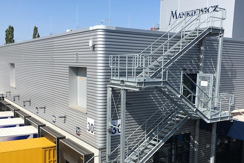 Neubau Logistikzentrum Finalin, Hamburg
