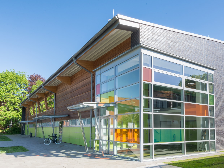 Neubau einer Sporthalle Oktaviostraße, Hamburg