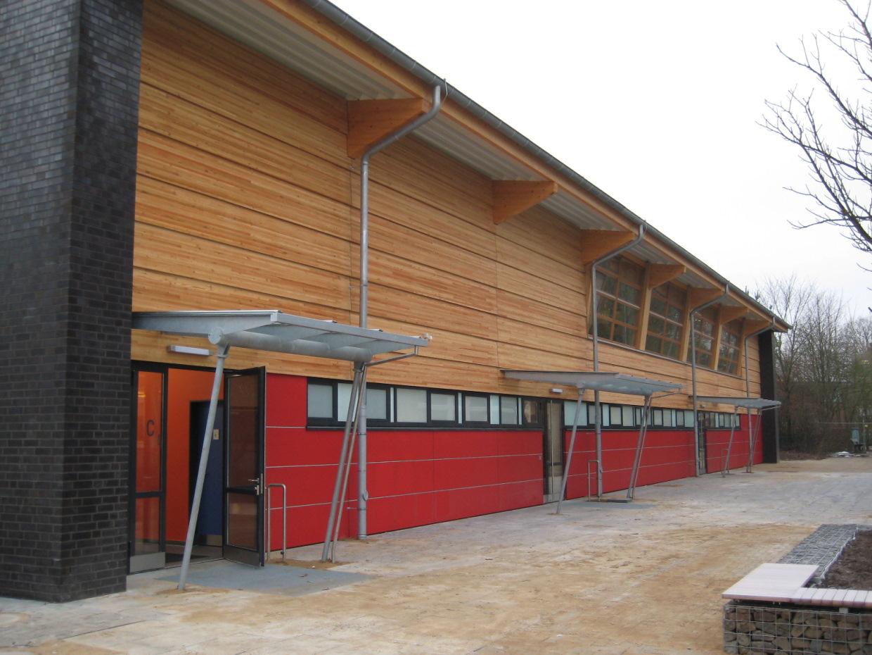 Neubau einer Sporthalle Müssenredder, Hamburg