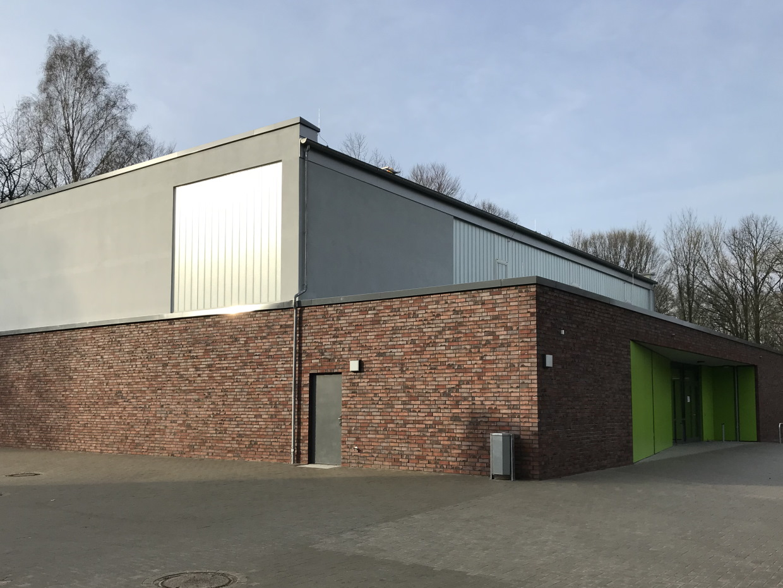 Neubau einer Einfeldsporthalle im Ohkampring, Hamburg