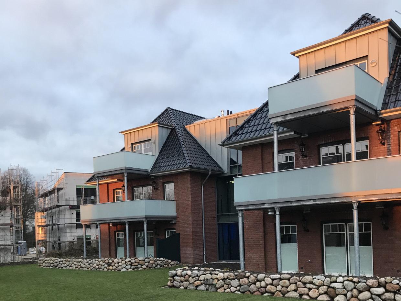 Neubau eines Mehrfamilienhauses in Siek