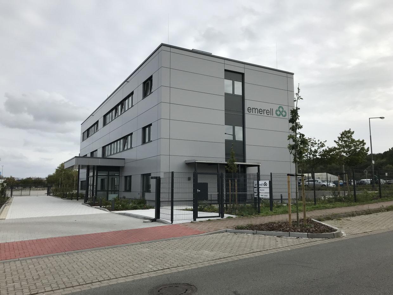 Neubau eines Büro- und Sozialgebäudes in Buxtehude